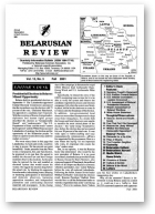 Belarusian Review, Volume 13, No. 3