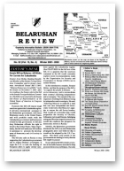 Belarusian Review, Volume 13, No. 4