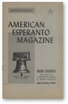 American Esperanto Magazine, july-aug, 1954